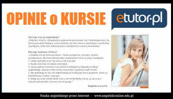 eTutor opinie użytkowników portalu do nauki angielskiego online