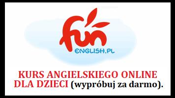 Angielski dla dzieci za darmo - online FunEnglish.