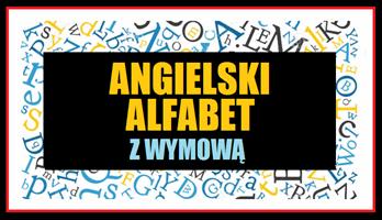 Alfabet po angielsku z wymową.