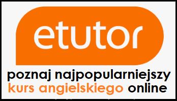 Angielski eTutor - logo najlepszego kursu do nauki angielskiego online